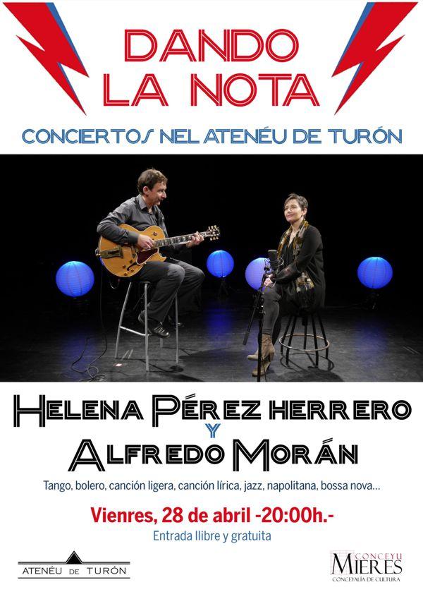 Cartel web Concierto Helena Perez Herrero Ateneu Turon