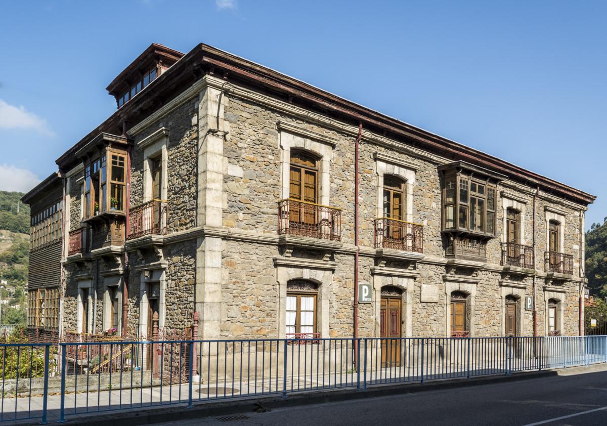 Casa Natal Aniceto Sela (Fot. J. Vázquez - AF Semeya)