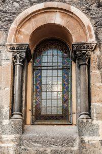 Cristalera Iglesia de Santa Eulalia (Fot. Ana Belén Rodríguez - AF Semeya)