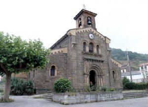 Fachada Iglesia de Santa Eulalia