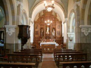 Interior Iglesia Parroquial de Santa María