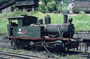 Locomotora de vapor HT_110 - San Jose (Fot: Herbert Schambach - MFA)