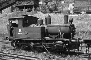 Locomotora de vapor HT_110 - San Jose (Fot: Herbert Schambach - Museo del Ferrocarril de Asturias)