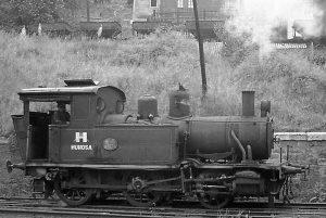 Locomotora de vapor HT_110 - Turon (Fot: Herbert Schambach - Museo del Ferrocarril de Asturias)