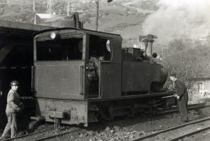 Locomotora de vapor SHE-11 (Fot: Ferran Llaurado - Museo del Ferrocarril)
