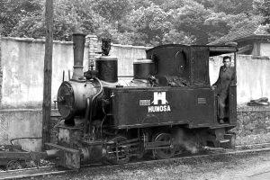 Locomotora de vapor Turon III - La Cuadriella (Fot: Herbert Schambach - Museo del Ferrocarril de Asturias)