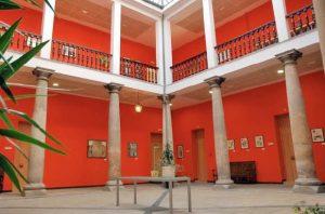 Patio interior Palacio del Marqués de Camposagrado