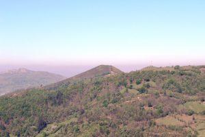Pico Gúa desde el miraor Entrepicos.