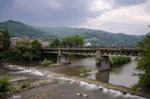 Puente La Perra en Mieres del Camín (Fot.Yolanda Suarez - AF Semeya).