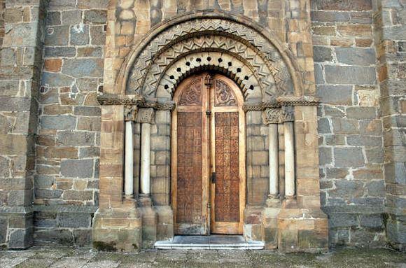 Puerta Iglesia de Santa Eulalia