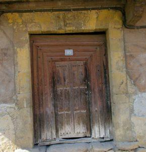 Puerta Palacio Cachero Riosa (Fot. Daniel Herrera Arenas)