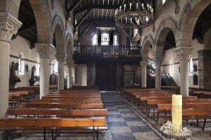 Vista Interior Coro Iglesia de Santa Eulalia (Fot. Julio Fernández Ferrero - AF Semeya)