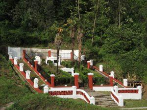Vista lateral Cementerio Protestante de la Familia Guilhou (Fot. Asociación Santa Bárbara)