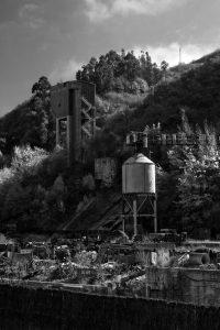 Vistas a Minas de Figaredo -  Cortina (Fot: Carlos Salvo - AF Semeya)