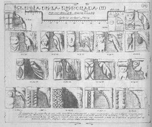 Canecillos Iglesia Parroquial de Santa María Magdalena (Laminarium de Benxa)