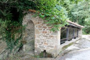 Fuente, lavadero y abrevadero de Carcarosa - Turón