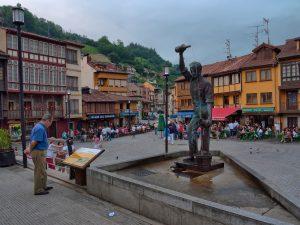 Plaza de Requejo - Mieres (Fot. Carlos Salvo - AF Semeya)