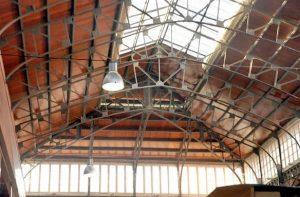 Techumbre interior Mercado Municipal de Abastos