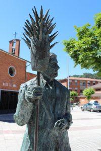 Detalle Escultura de Jesús el Pirulero