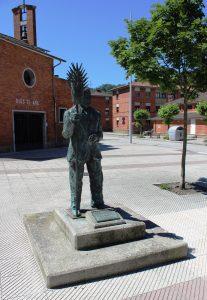 Escultura de Jesús el Pirulero