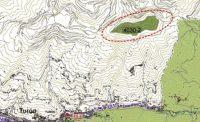 Mapa de los brezales secos europeos en el Pico Polio.