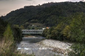 Río Caudal en Uxo (Fot.:Yolanda Suarez - AF Semeya).