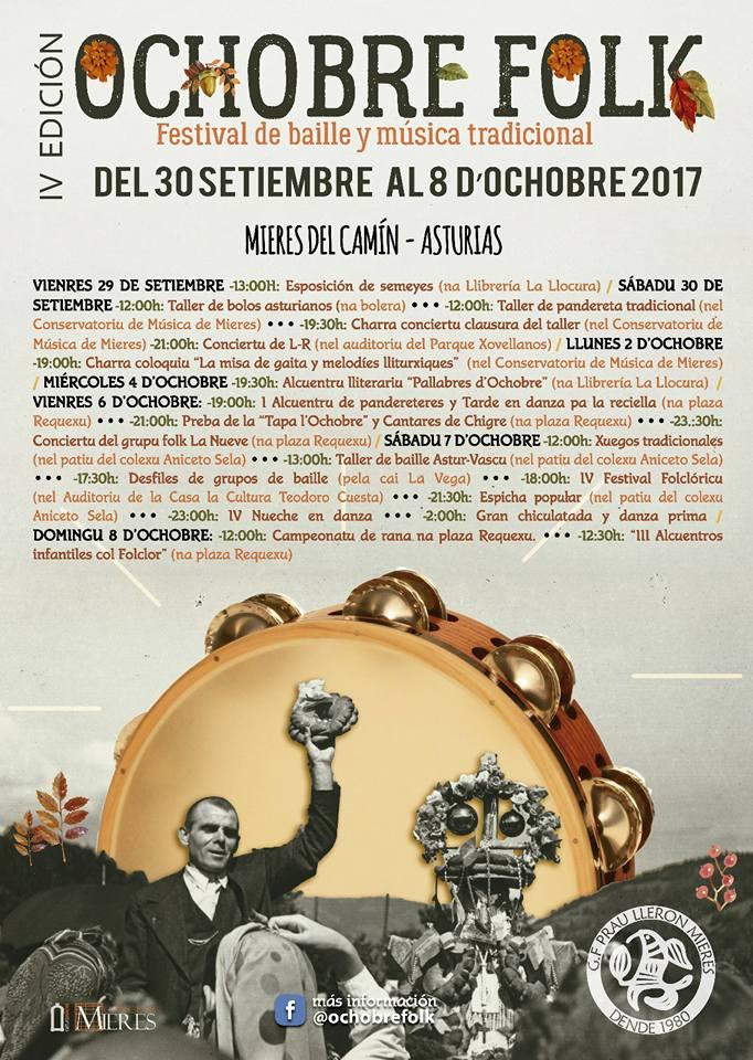 cartel ochobre folk 2017