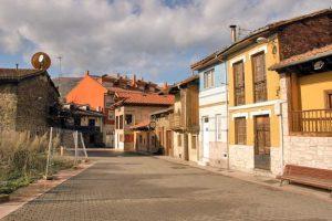 Casas antiguas del barrio