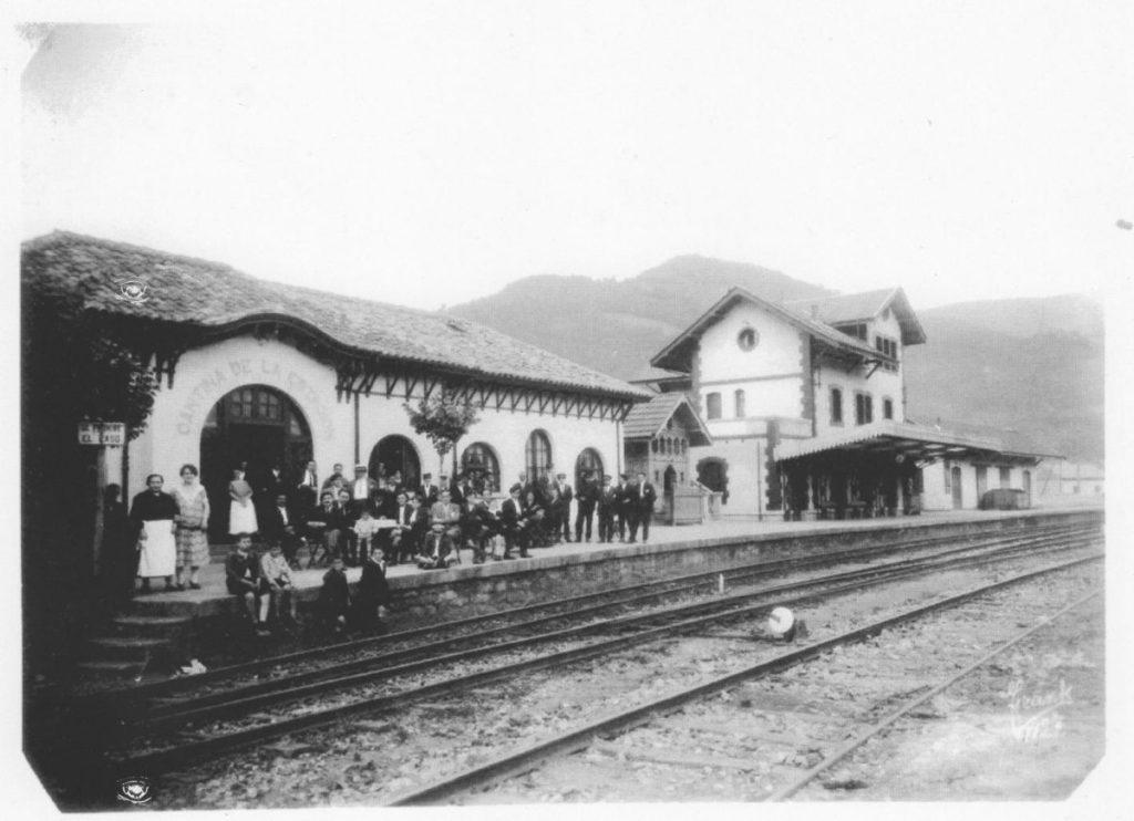Antigua estación de tren Vasco-Asturiana