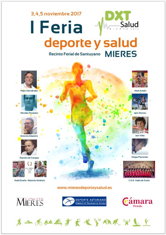 Cartel I Feria Deporte Salud