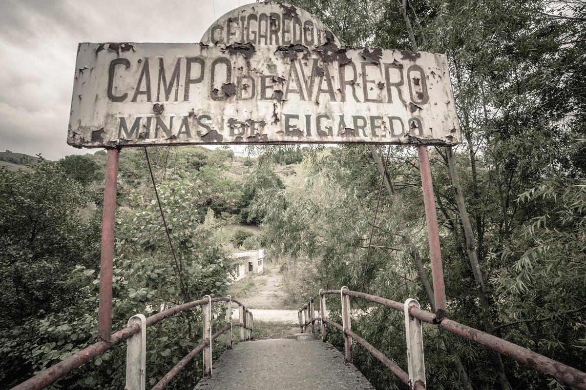 Entrada a Minas de Figaredo (Fot. Kasis - AF Semeya)