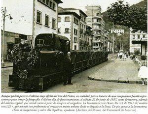 La llegada del ferrocarril a Mieres