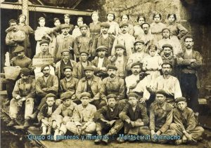 Mujeres mineras - Grupo