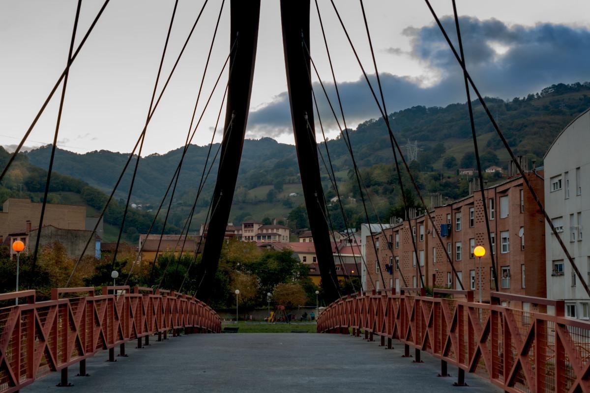 Puente en Uxo (Fot. Ana Belén Rodríguez - AF Semeya)