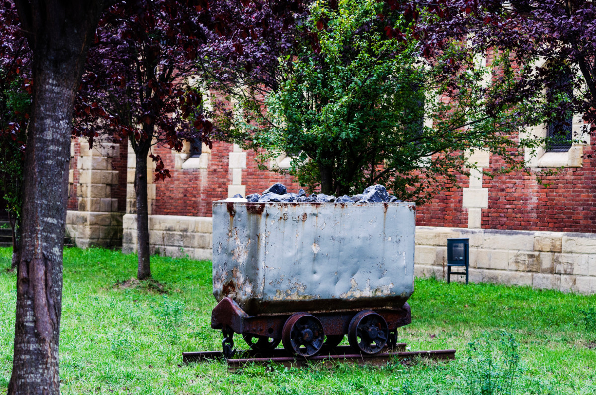 Vagoneta de carbón, Bustiello (Fot. Yolanda Suarez - AF Semeya)