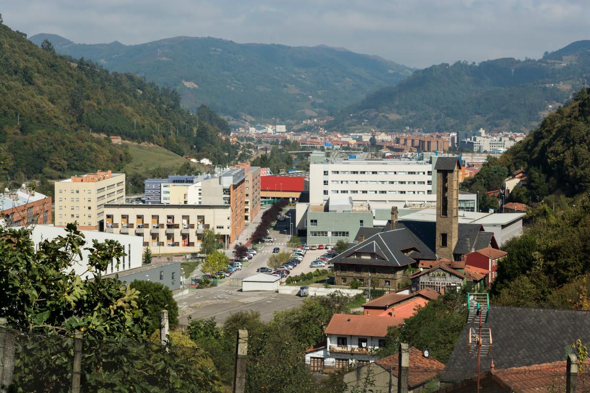 Vistas a la vega de Santuyano (Fot. J.Vazquez - AF Semeya)