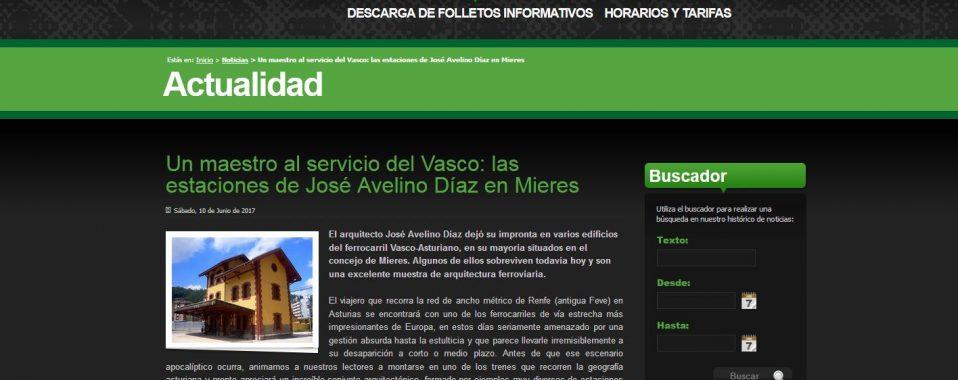 Artículo Un maestro al servicio del Vasco