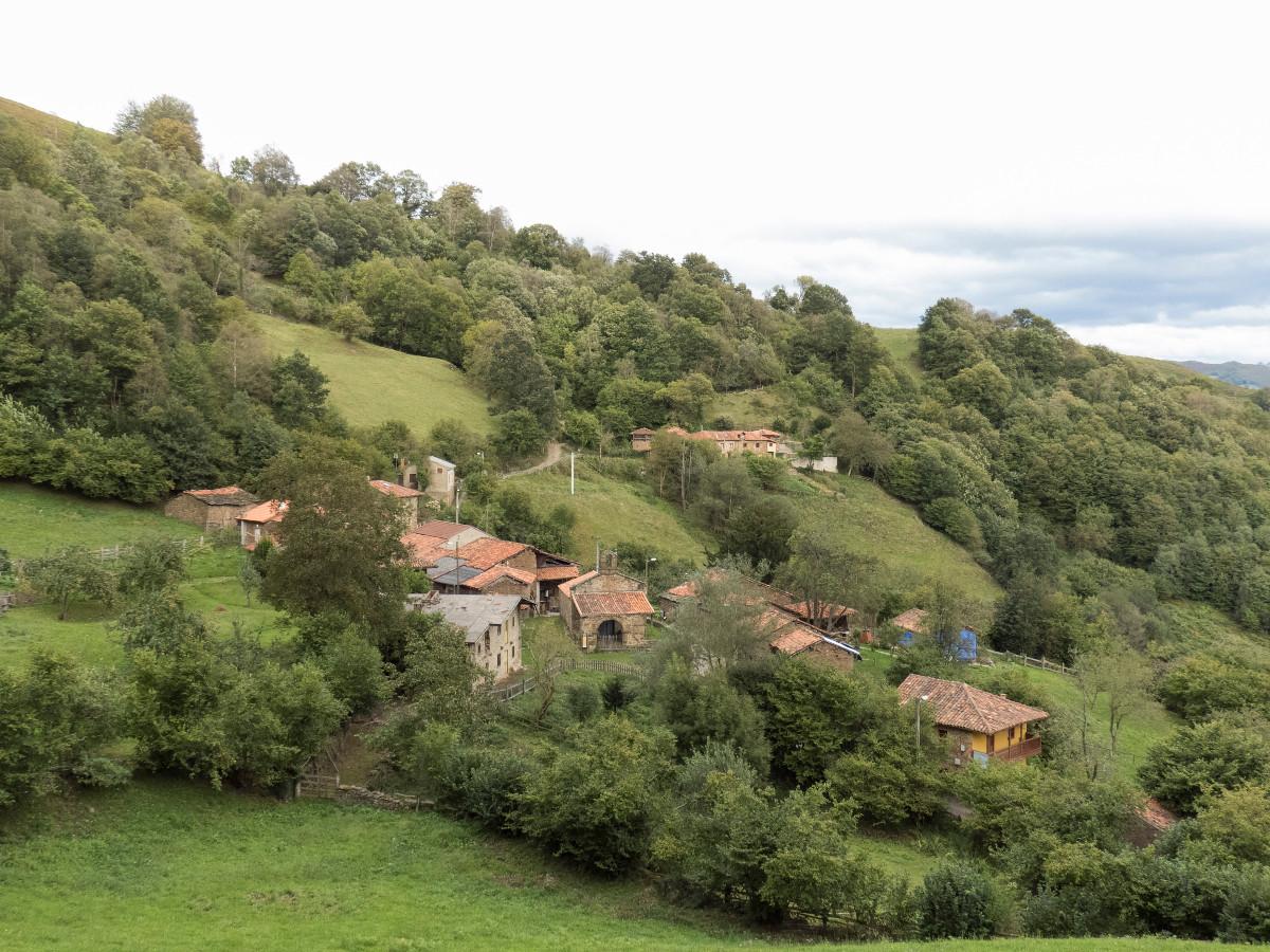 Vista de San Xusto, Turón (Fot. Monchu - AF Semeya)