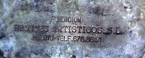 Detalle Escultura Aguadora