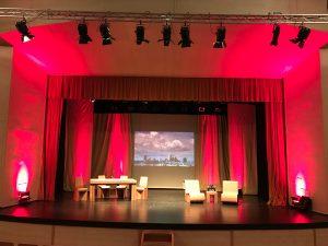 Escenario Auditorio Teodoro Cuesta