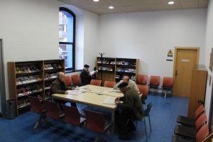 Sala de lectura de revistas y periodicos