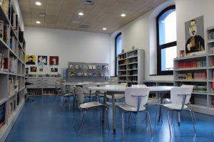Sala de lectura para jovenes