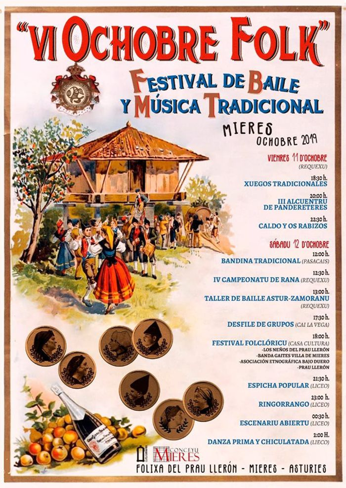 Cartel Web Ochobre Folk 2019