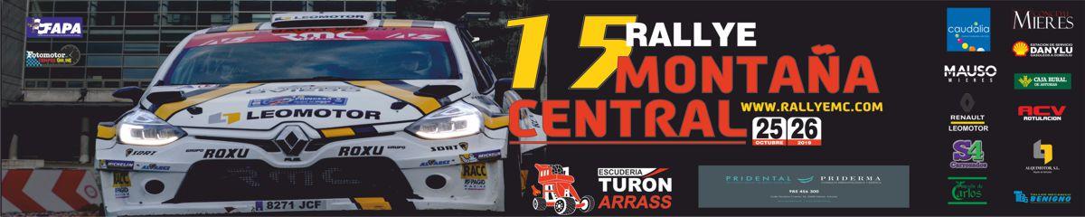 Cartel Web Rallye Montaña Central 2019