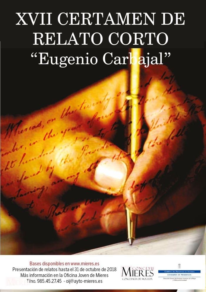 Cartel Web XVII Eugenio Carbajal 2018