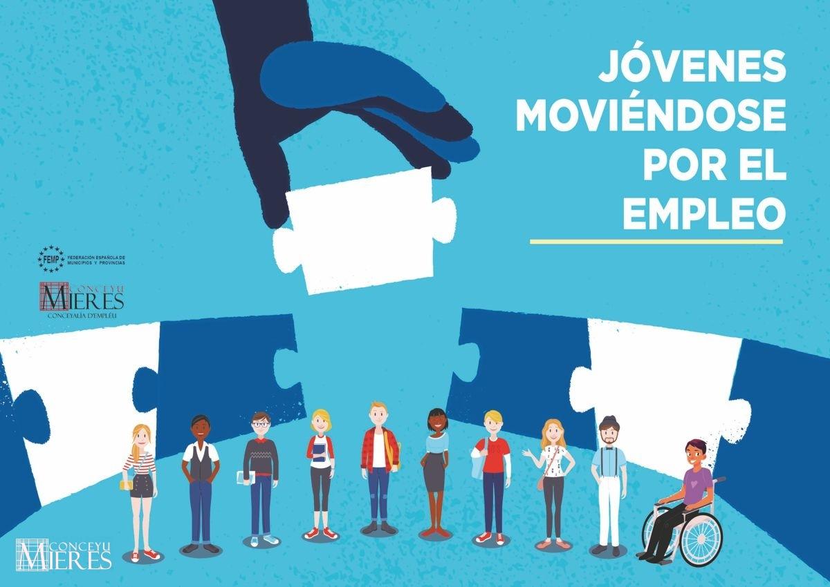 Cartel Web Programa Jovenes Moviendose Por El Empleo
