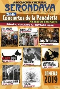 Cartel Web Conciertos De La Panadería 2019