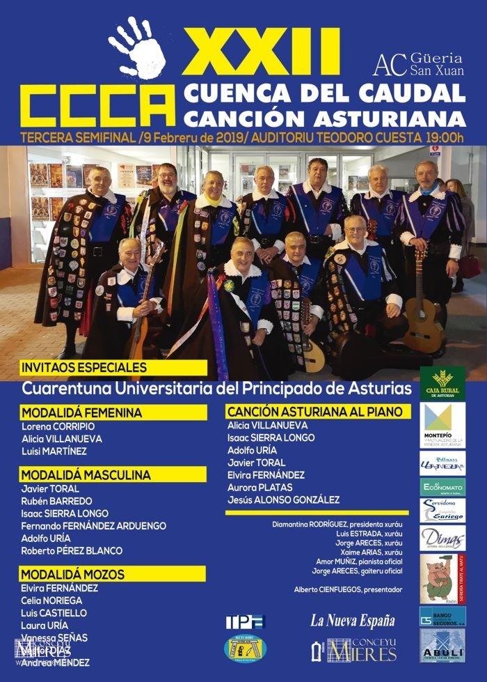 Cartel Web Tercera Semifinal Cuenca Del Caudal 2019