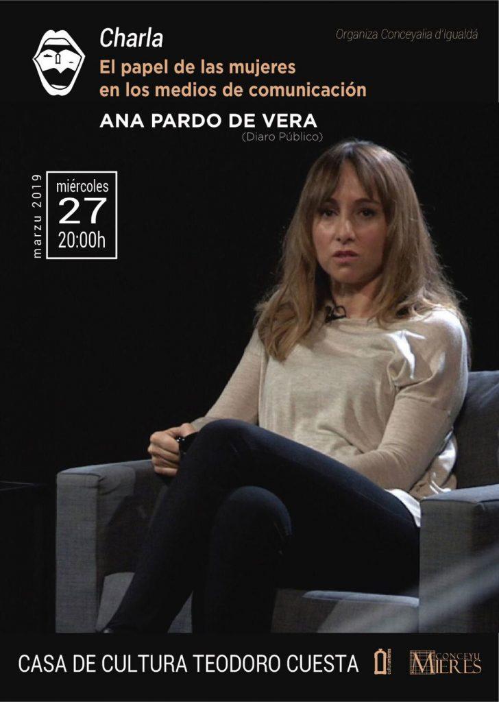 Cartel Web Charla Ana Pardo De Vera