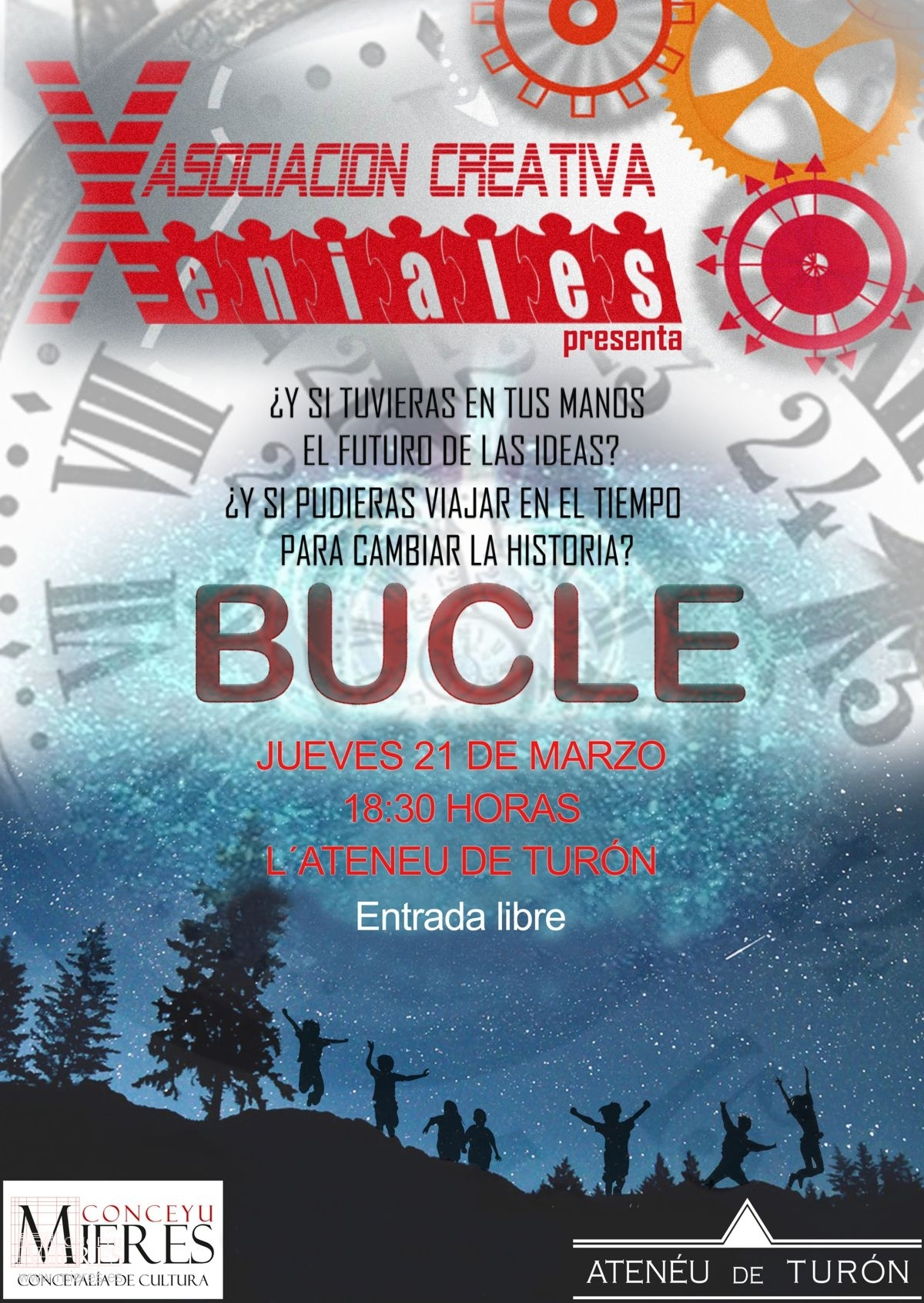 Cartel Web Funcion Bucle Ateneu Turon